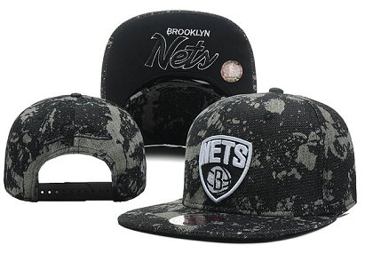 Brooklyn Nets NBA Snapback Hat XDF-A
